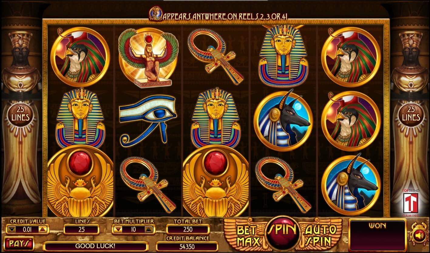 การเลือกเกม TopTrend Gaming-cleopatra