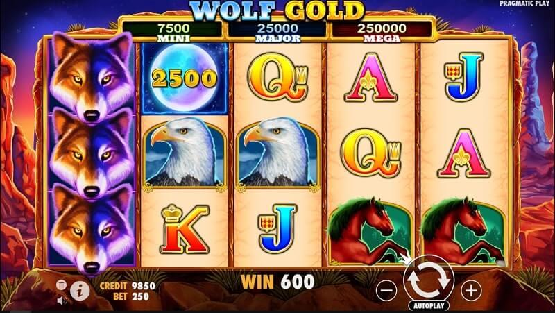 ตัวเลือกเกม Pragmatic Play-wolf-gold