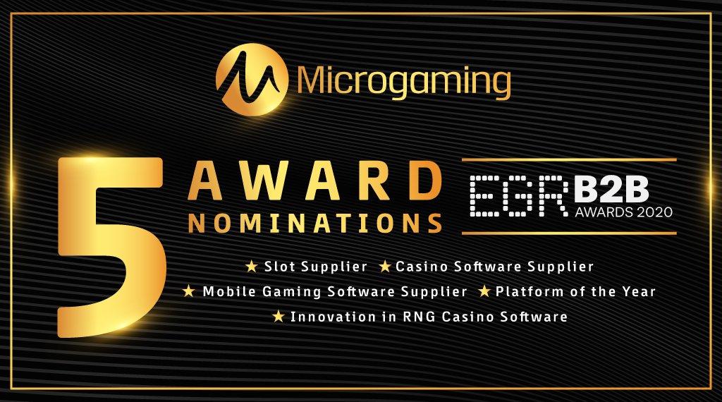 รางวัลชนะโดย MicroGaming