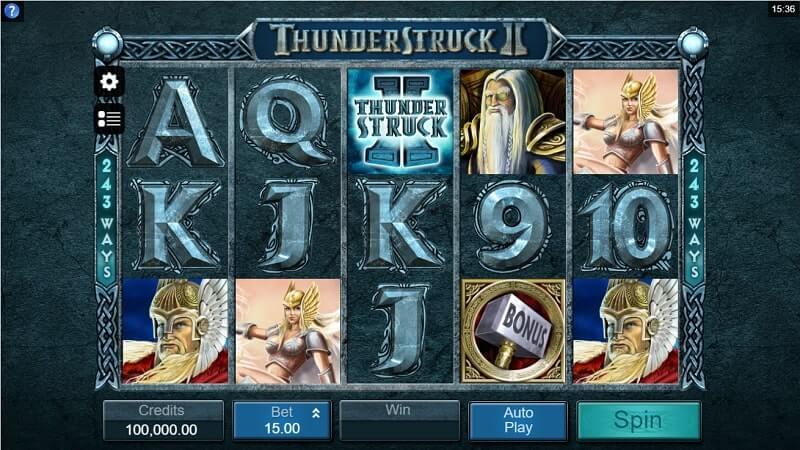 เกมสล็อต MicroGaming-Thunderstruck-2