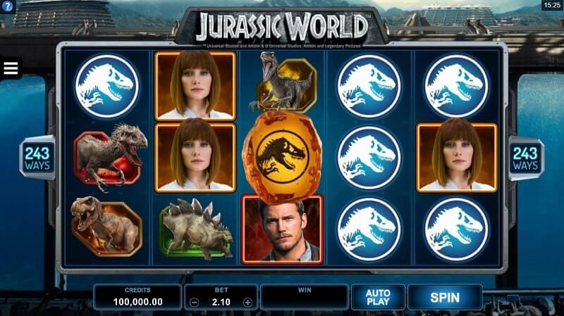 เกมสล็อต MicroGaming-jurassic-world