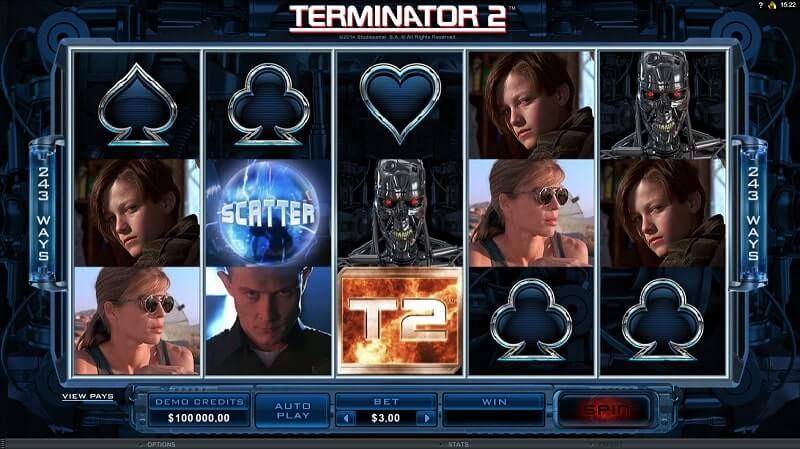 เกมสล็อต MicroGaming-terminator