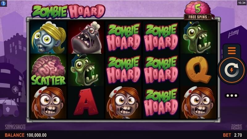 เกมสล็อต MicroGaming-zombie-hoard