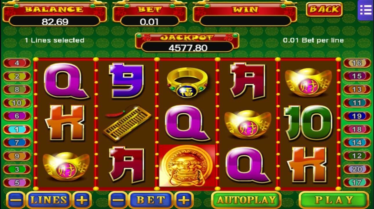 เกม Mega888 5 fortunes