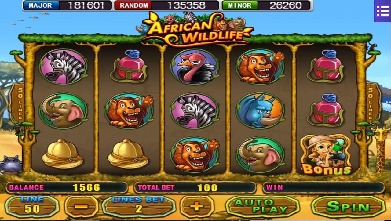 เกม Mega888-african-wildlife